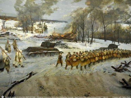 La Grande guerra patriottica (II guerra mondiale) e' assunta a mito in Russia e condiziona la geopolitica russa