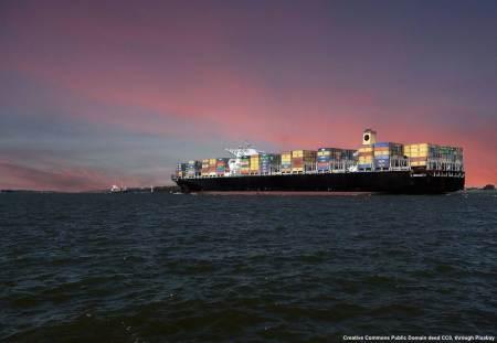 Porta-container in navigazione. Vi siete mai posti il problema dei rischi di export legati a problemi che riguardino una di queste navi - che magari trasporta la vostra merce?