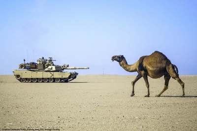 L'Arabia Saudita ha appena acquistato parecchi carri armati M1 Abrams dagli USA