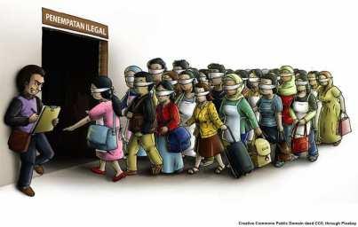 immigrazione illegale in UE