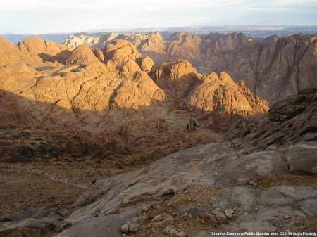 Il Sinai, in Egitto, e' una delle basi dell'Isis