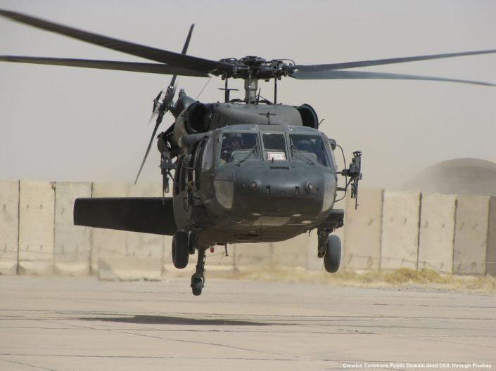 Gli USA fanno largo impiego di elicotteri UH-60 nei paesi del Medio Oriente