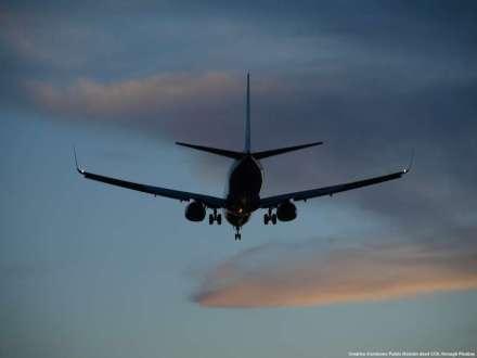 Export, volo commerciale