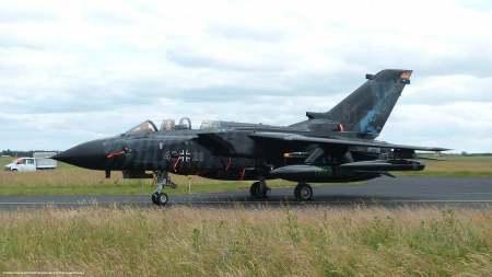 Un Tornado della Luftwaffe, come quelli inviati in Turchia contro l'Isis