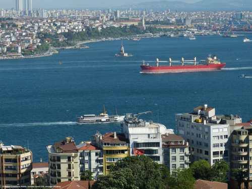 Turchia: il Bosforo, l'accesso al Mar Nero