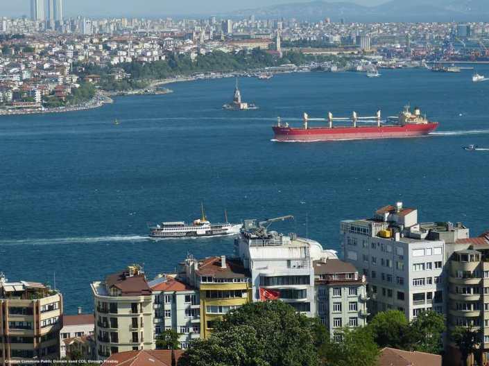 Mar Nero: la Turchia controlla il Bosforo e quindi anche tanta parte dell'export russo - quello del grano per primo
