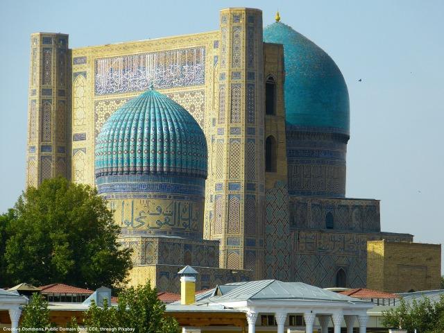 Samarcanda, Uzbekistan. L'internazionalizzazione in Asia Centrale puo' essere molto interessante anche dal punto di vista culturale, perche' la regione e' stata il centro del mondo commerciale per secoli