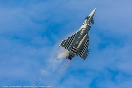 Caccia Typhoon, come quelli italiani ai confini russi
