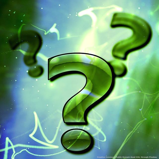 Trovo che le domande dei miei lettori meritino di essere inserite nei miei articoli