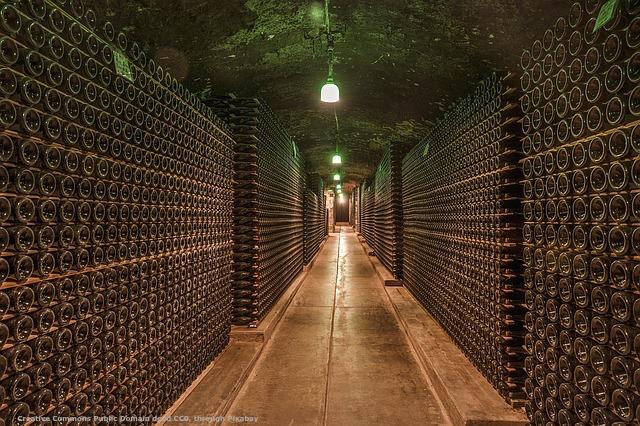 Cantina di vino DOC - il possibile cliente che la visita comprera' probabilmente da voi
