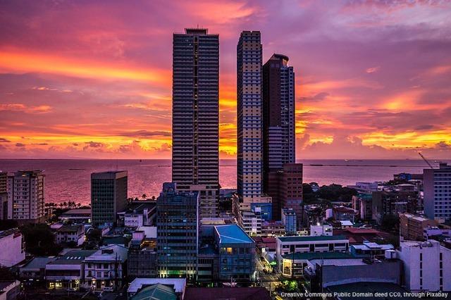 Manila, Filippine. Il cuore del paese