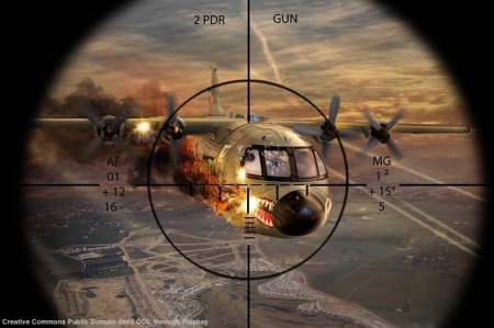 Un modo ampiamente superato di vedere la guerra. Una guerra silenziosa e' gia' in atto - o perlomeno lo e' la cyberguerrilla