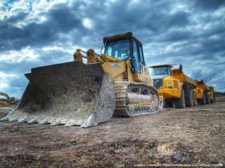 Cantiere all'estero per opere edili