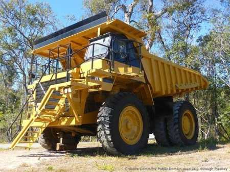 Macchina da cantiere - mezzo per il trasporto materiali
