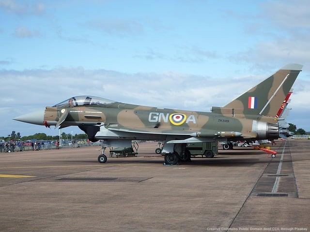 Brexit, Gibilterra e la UE - caccia inglese Typhoon