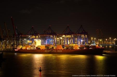 Consulenza di export ed il porto di Amburgo