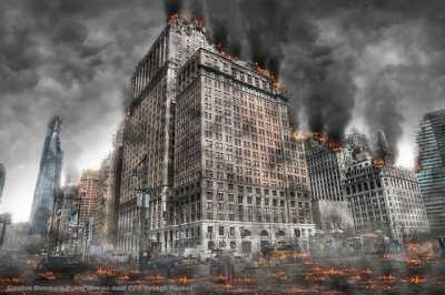 Civil war and urban guerrilla tactics