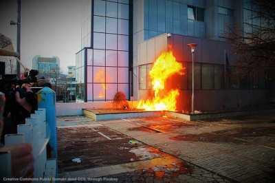 Unrest and guerrilla tactics in the US