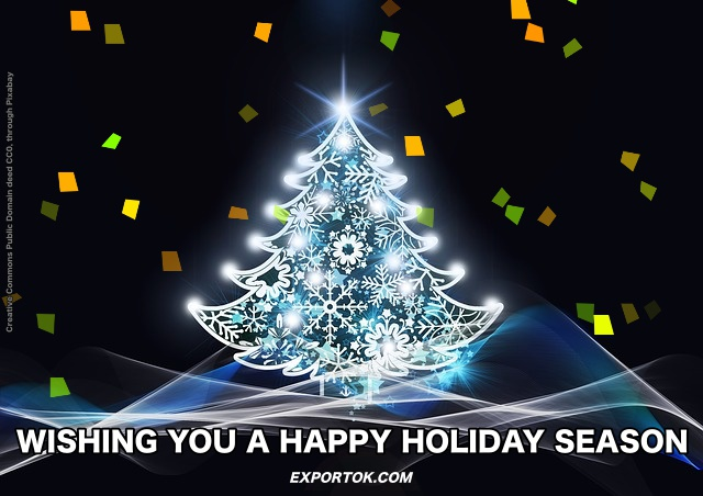 Export OK wishes you a happy holiday season!