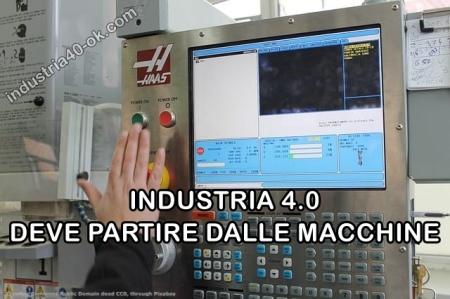 Le macchine sono la base di Industria 4.0. Fotografia da Industria 4.0 OK